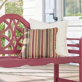 Redwood Outdoor Throw Pillow
