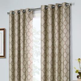 Clover Curtain Panel