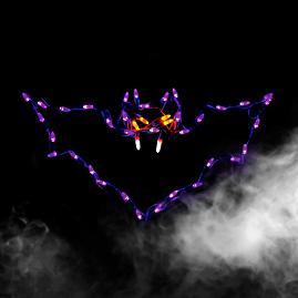 Pre Lit LED Bat