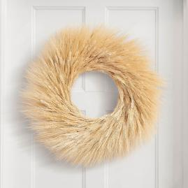 Golden Wheat Wreath
