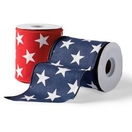 Stars Fourth of July Ribbon