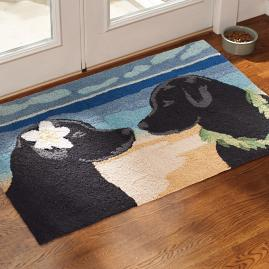 Sporting Eloping Dog Mat