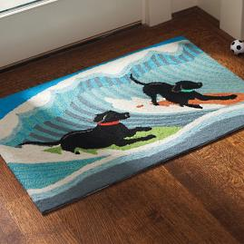 Surfing Trip Sporting Dog Mat
