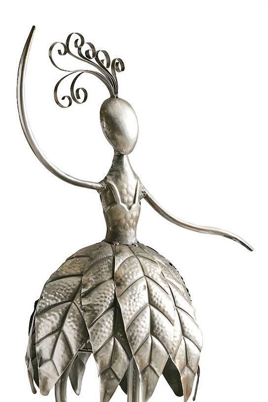 Dancing Garden Girl Outdoor Sculpture Grandin Road
