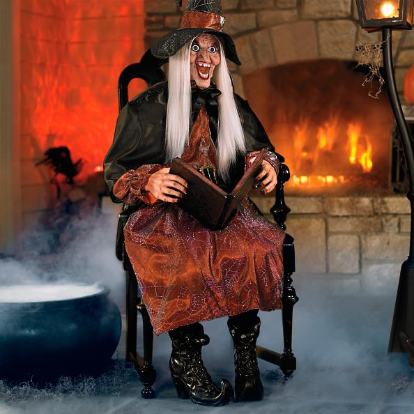 Storytelling Witch Figure
