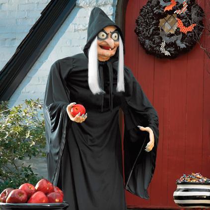 Life Size Quot Snow White Quot Old Hag Figure Grandin Road