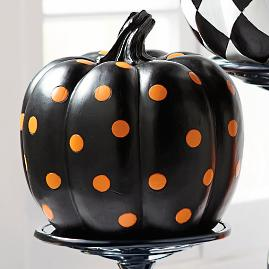 Large Dot Pumpkin
