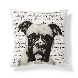 Boxer Heritage Throw Pillow