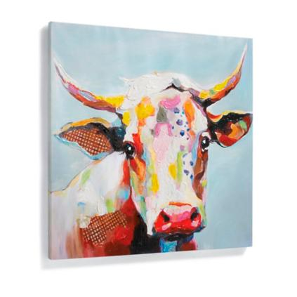 Cow Wall Art bessie wall art | grandin road