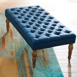 Westerfield Tufted Ottoman