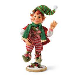 Mark Roberts Peppermint Bells Elf