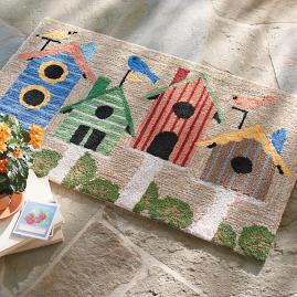 Birdhouse Outdoor Mat
