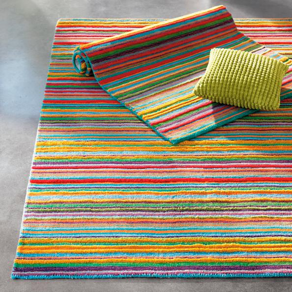 Skyland Stripe Indoor Rug Grandin Road