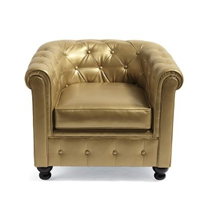 Harrison Chair in Gold
