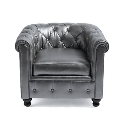 Harrison Chair in Pewter