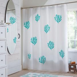 Coral Springs Shower Curtain