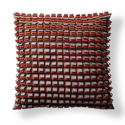 Dimensional Square Outdoor Pillow