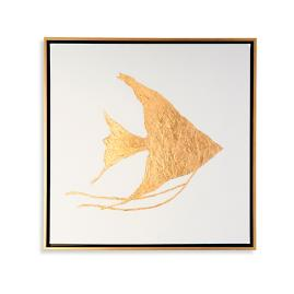 Golden Sea Life Artwork