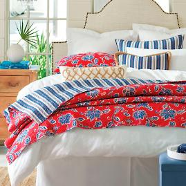 Charleston Quilt and Shams