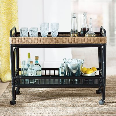 Grandin Road Miramar Bar Cart