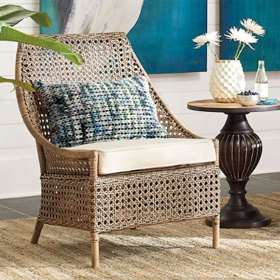 Naples Rattan Chair Grandin Road