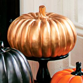 Solid Gold Pumpkin
