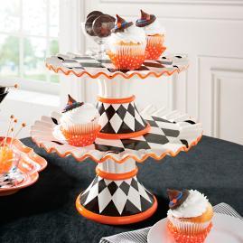 Hailey Harlequin Cake Plate