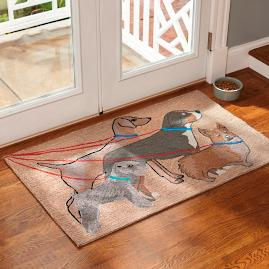 Dog Walking Entry Mat