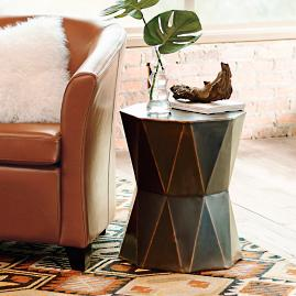 Octagon Copper Table