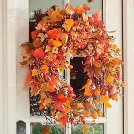 Harvest Moon Wreath