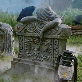 Eternal Rest Tombstone |