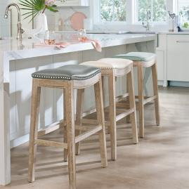 Jennifer Oak Bar & Counter Stool |