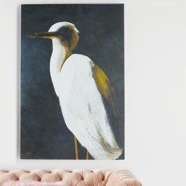 White Heron II Wall Art