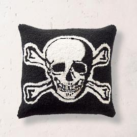 Halloween Skull Hook Pillow