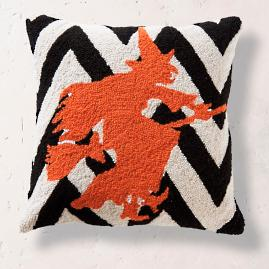 Halloween Witch Hook Pillow |