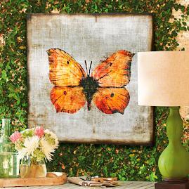Butterfly Bliss Outdoor Wall Art