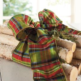 McFarland Plaid Ribbon