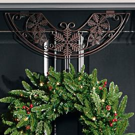 Snowflake Adjustable Wreath Hanger |