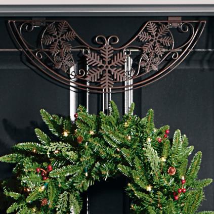 Snowflake Adjustable Wreath Hanger Grandin Road
