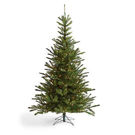 Pre-Lit Noble Fir Artificial Christmas Tree