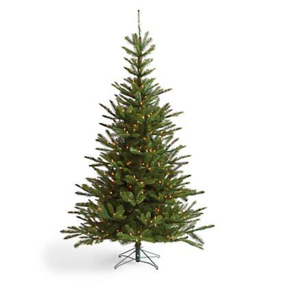 prelit noble fir artificial christmas tree