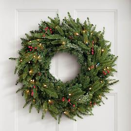Madison Fraser Cordless Wreath |