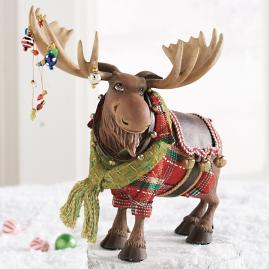 Morton Moose Fa La La Figure