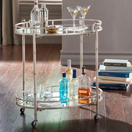 Cooper Mobile Bar Cart