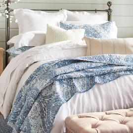 French Hill Quilt and Sham