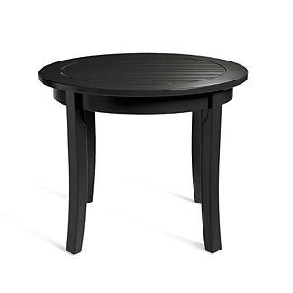 plantation side table grandin road. Black Bedroom Furniture Sets. Home Design Ideas