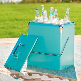 18 qt. Retro Cooler