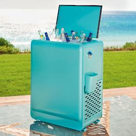 57-qt. Retro Cooler