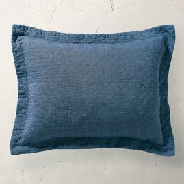 Linen Quilted Pillow Sham