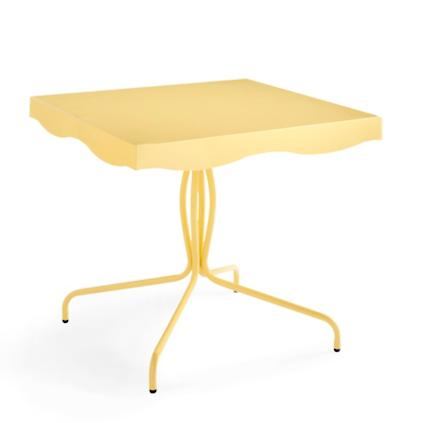 Grandin Road Astoria Bistro Table (Daffodil or Cobalt)
